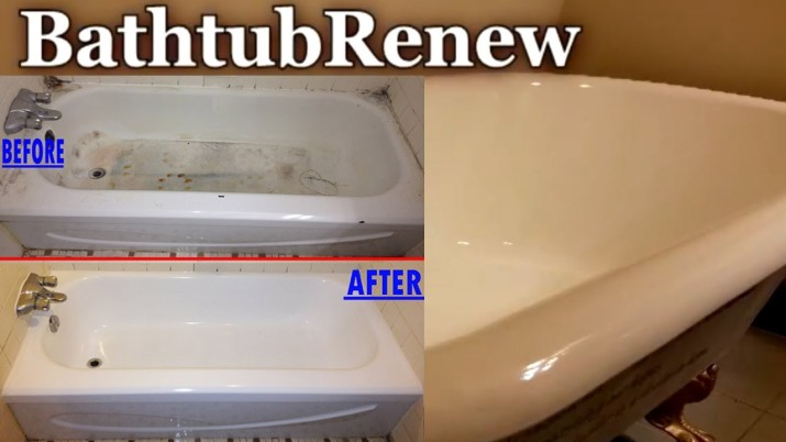 How to Refinish a Porcelain Bathtub