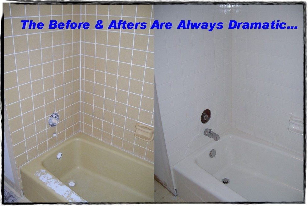 You should know how to refinish bathtub - it shouldn\'t cost a lot ...