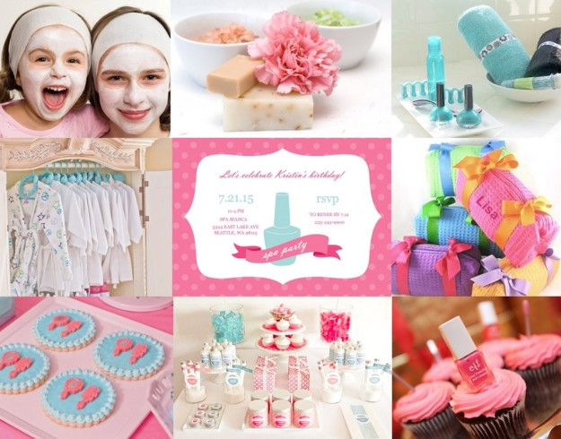 Kid Spa Party Supplies