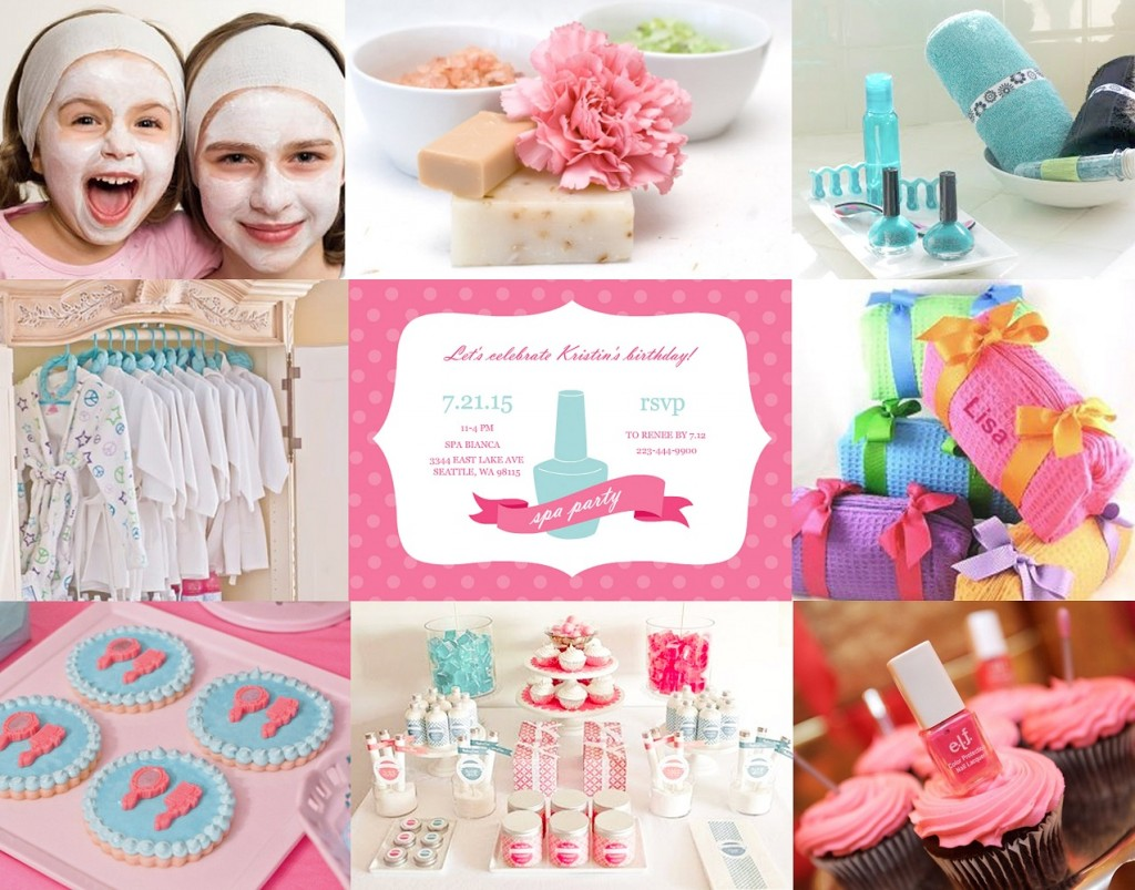 Little Princess Spa Party San Diego