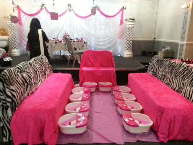 Kids Mobile Spa Party