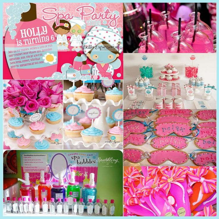 kids spa birthday party ideas pool design ideas