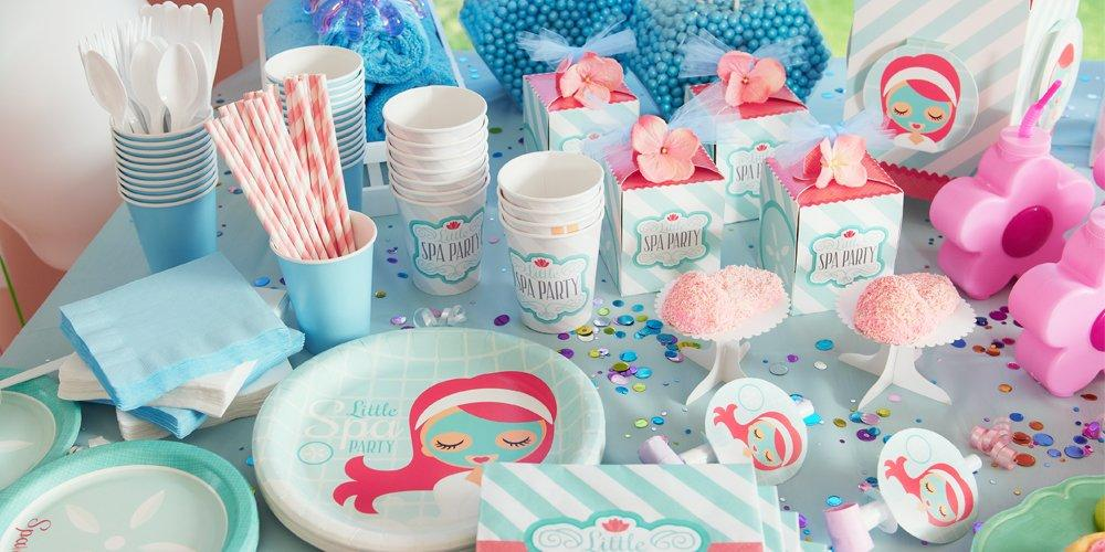 Kids Spa Party Favors