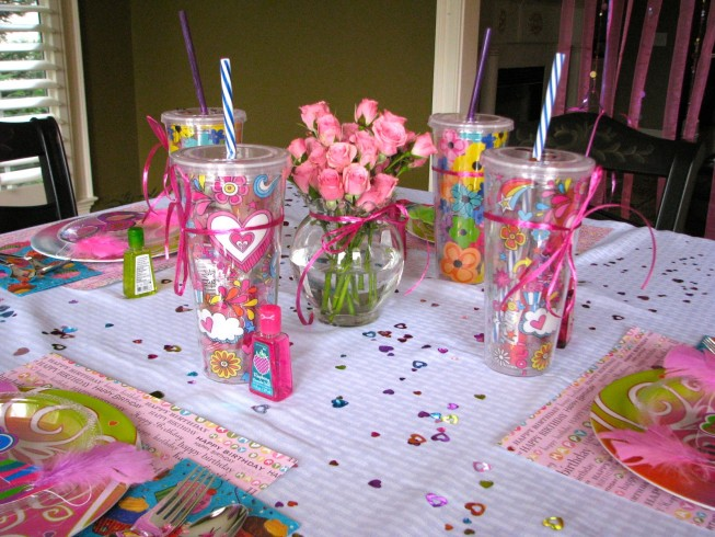 Kids Spa Party Ideas