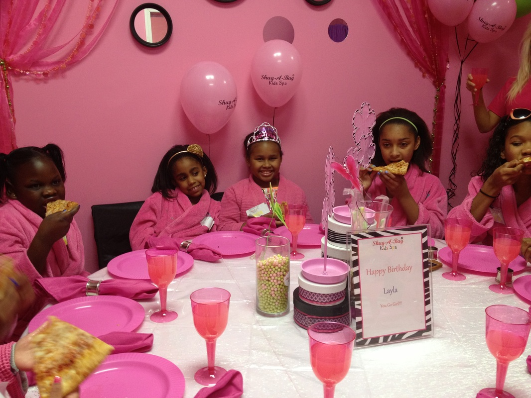 Kids Spa Party Robes