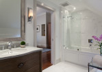 Large Bathtub Shower Combo
