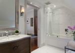 Large Bathtub Shower Combo