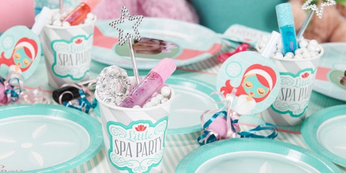 Little Spa Party Supplies