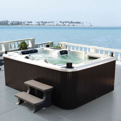 jacuzzi ideas pool design ideas. Black Bedroom Furniture Sets. Home Design Ideas