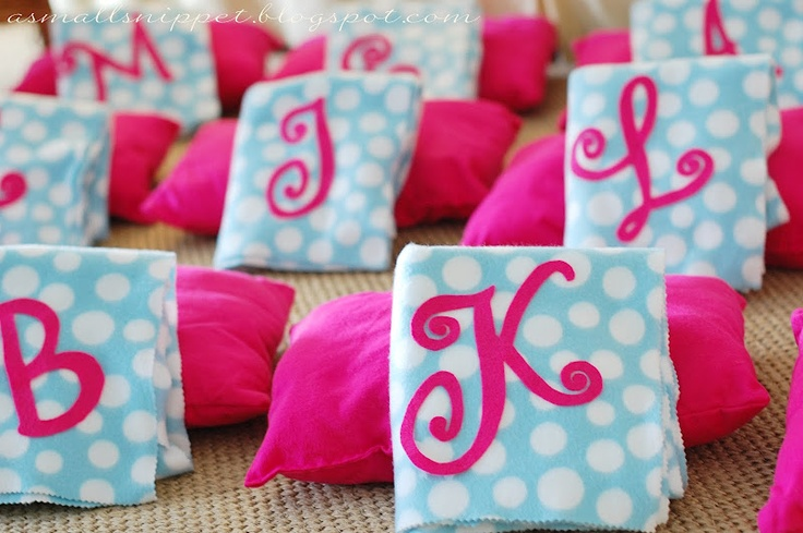 Party Favors for Spa Party