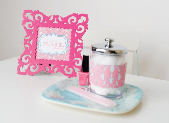 Personalized Spa Party Favors