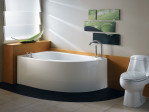 Small Corner Bathtub