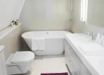 Small Corner Bathtub is Great