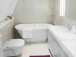 Small Corner Bathtub is Great