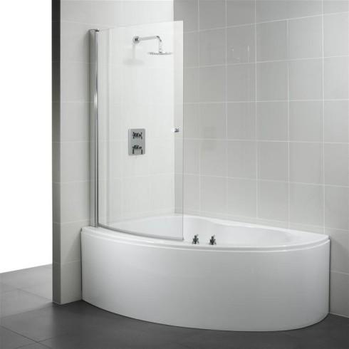 Small Corner Bathtub Shower