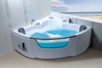 Small Corner Bathtub Size