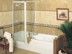 Small Corner Tub Shower Combo
