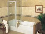 Small Corner Tub Shower Combo