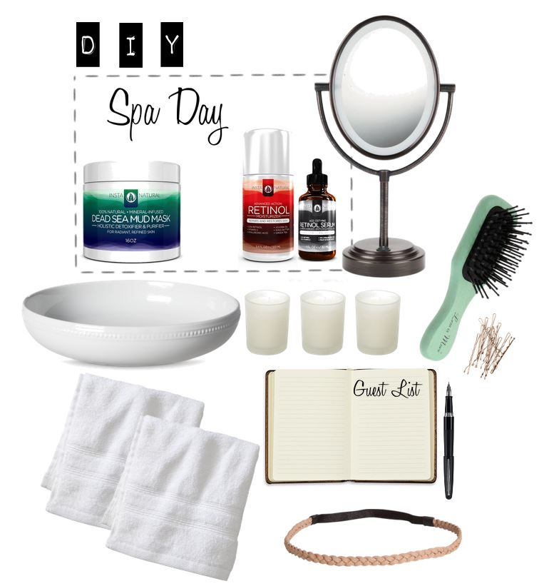 Spa Day at Home DIY