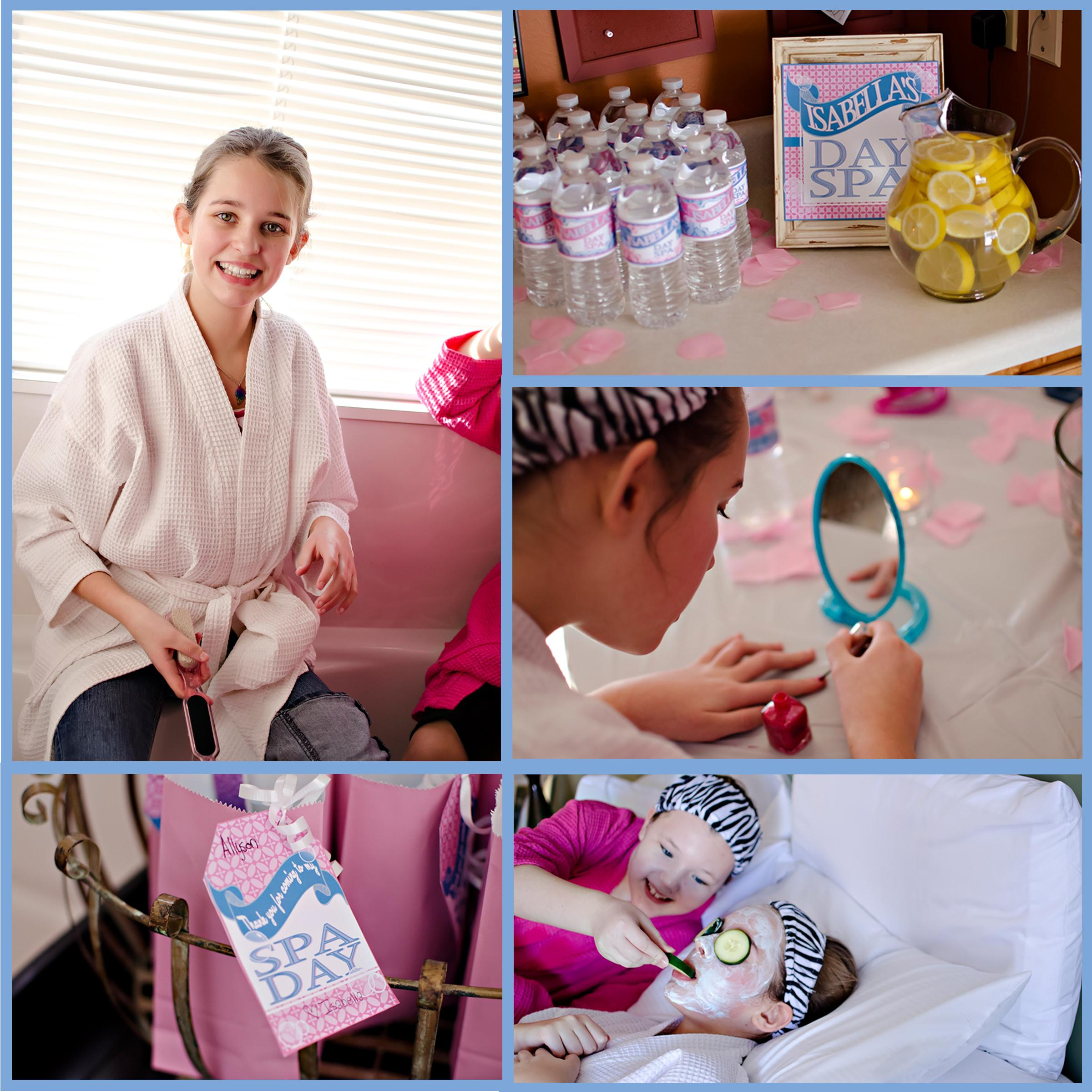 Spa Day at Home for Tweens