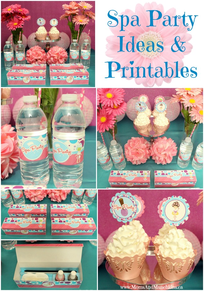 Spa Party Favors for Kids