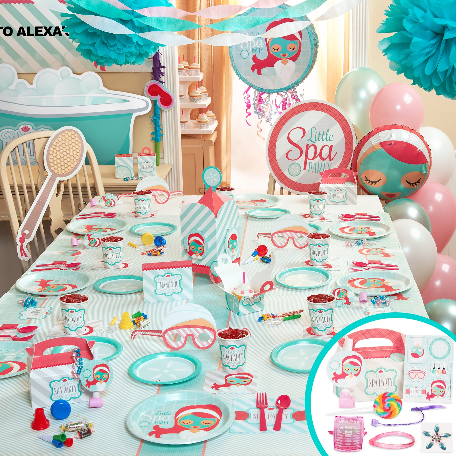 Spa Party Favors for Tweens