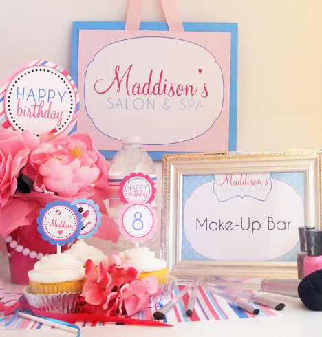 Spa Party for Girls Ideas