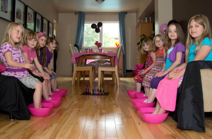 Spa Party for Kids