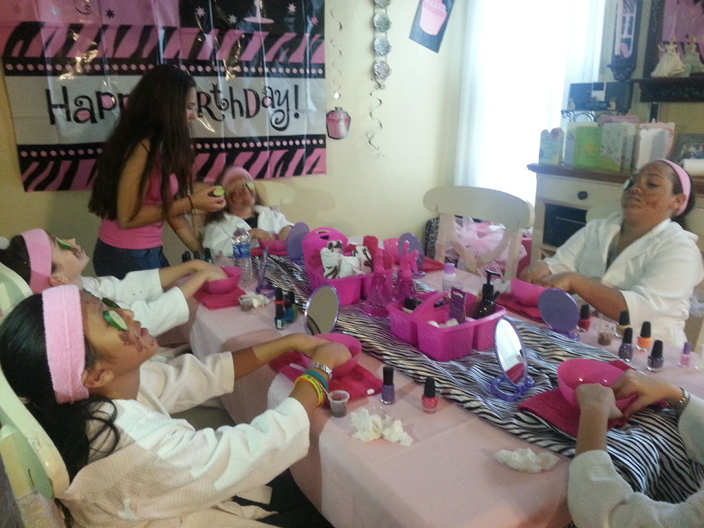 Spa Party Ideas for Kids