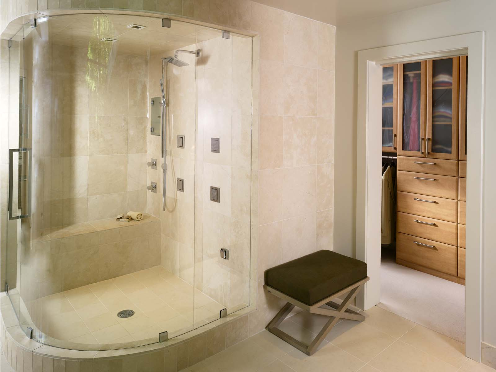 Walk in Bathtub and Shower Combo
