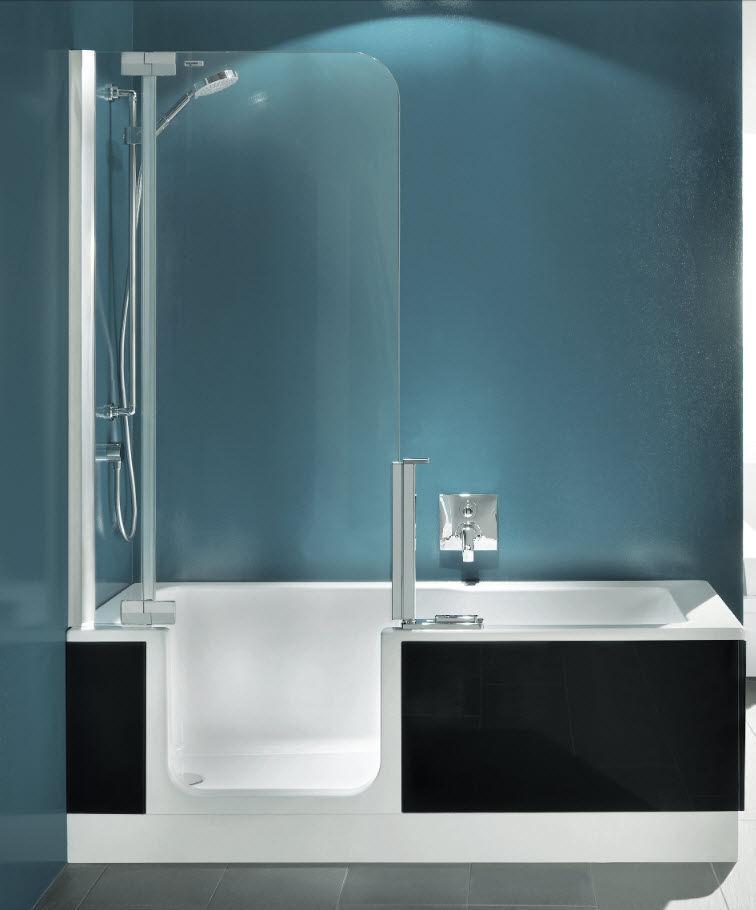 Walk in Bathtub Shower Combo